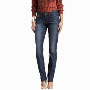 Lucky Brand Jeans Sofia Straight Leg Dark Wash